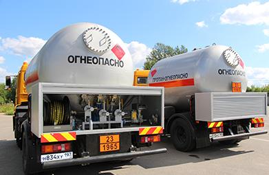 доставка газа в Раменское